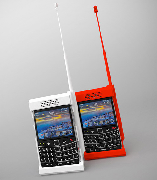 Blackberry B100 Case (Image courtesy Freedom of Creation)