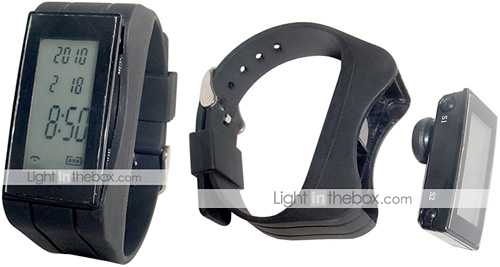 2-in-1 Bluetooth Handsfree Wristwatch Headset (Images courtesy Lightinthebox.com)