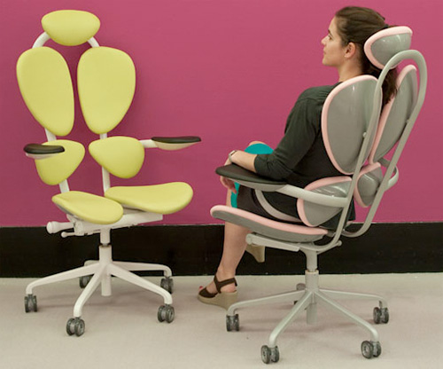 Chakra Chair By Karim Rashid (Image courtesy dailyfix)