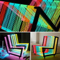 Wondering What To Do With That 200 Linear Meters Of Electroluminescent Wire You Have Lying Around? Make A Disco Chair!