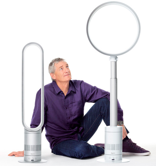 Dyson AM02 & AM03 Air Multiplier Fans (Image courtesy Dyson)