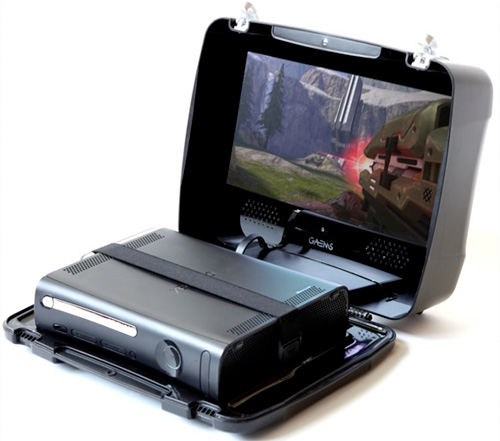 GAEMS Suitcase (Image courtesy GAEMS Gaming and Entertainment Mobile Systems)