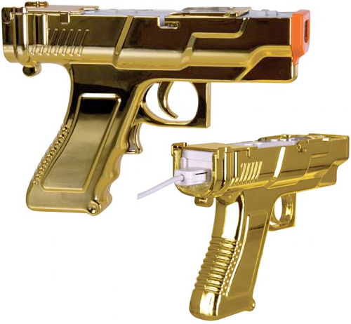 GOLD EDITION SharpShot (Images courtesy dreamGEAR)