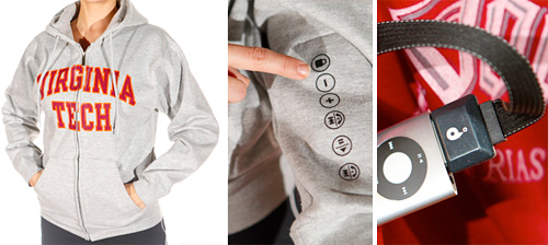 LimbGear iHood Interactive Hoodie (Images courtesy LimbGear)