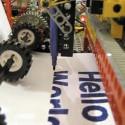 Impressive LEGO Felt-Tip Printer