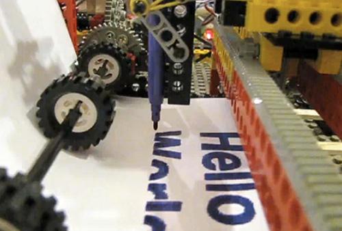 LEGO Felt-Tip Printer (Image courtesy squirrelfantasy)