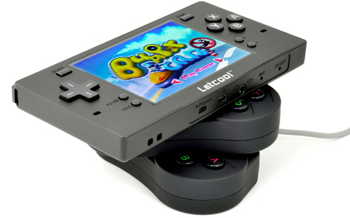 Letcool Multiplatform Handheld Gaming Entertainment Station (Image courtesy Chinavasion)