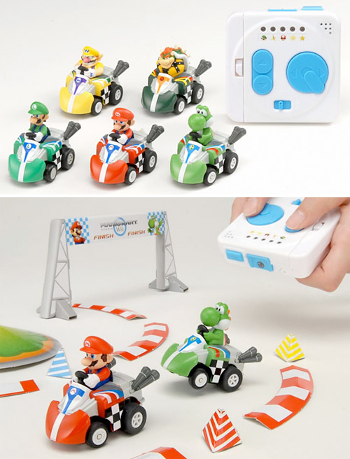 RC Mario Karts (Images courtesy Tomy)