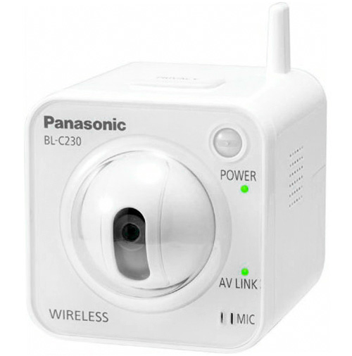 Panasonic BL-C230A Wireless Network Camera (Image courtesy Panasonic)