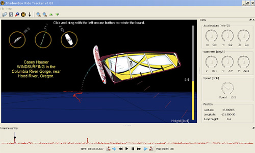 Shadow Box Ride Tracker Application (Image courtesy Shadow Box)