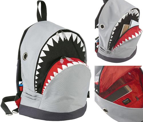 Shark Backpack (Images courtesy CainaMarket)