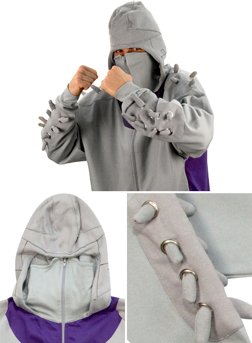 TMNT Shredder Hooded Sweatshirt (Images courtesy 80sTees.com)