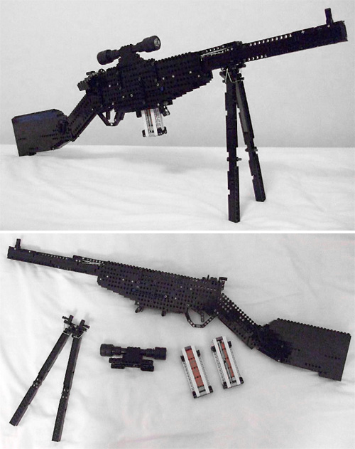 LEGO Lee Enfield Bolt Action Sniper Rifle (Images courtesy Jack Streat)