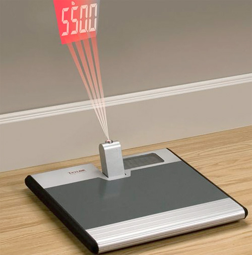 Taylor 550 Pound Projection Scale (Image courtesy 7Gadgets)