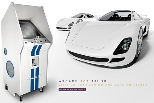 Pinel & Pinel Luxury Arcade 80's Cabinet (Image courtesy Pinel & Pinel)