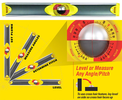 C.H. Hanson Precision Ball Level (Images courtesy C.H. Hanson & Uncrate)