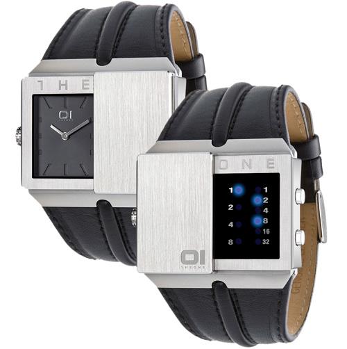 Binary Slider Watch (Image courtesy thumbsUp!)