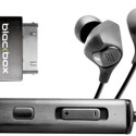 Blackbox i10 Noise Cancelling Earphones Powered By Your iPod/iPhone