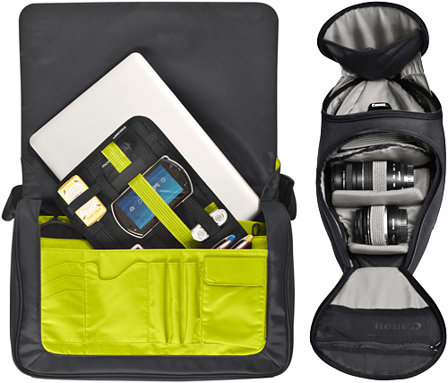 Cocoon Soho Messenger Bag And Tribeca Digital SLR Sling (Images courtesy Cocoon Innovations)