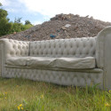 Surprisingly Detailed Concrete Sofa  – The Future Of Park Benches?