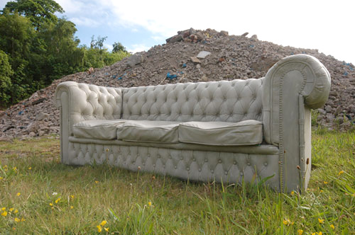 Concrete Sofa (Image courtesy Design Milk)