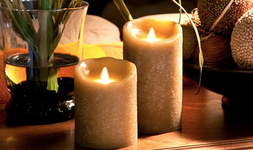 Luminara Dream Candles (Image courtesy Luminara)