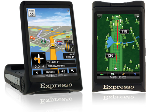 Expresso GPS (Images courtesy Expresso Satellite Navigation Ltd.)