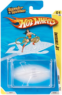 Hot Wheels' Wonder Woman Invisible Jet (Image courtesy Shey.net)