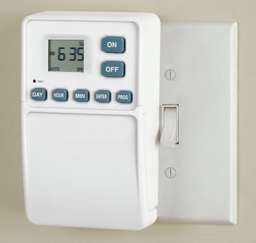 Light Switch Timer (Image courtesy Hammacher Schlemmer)