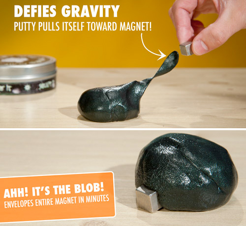 Strange Attractor Magnetic Thinking Putty (Images courtesy Vat19)