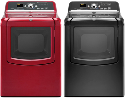 Maytag Bravos Dryers (Images courtesy Maytag)