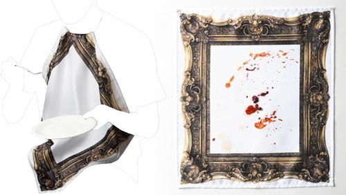 Frame Napkin (Images courtesy Caina Market)