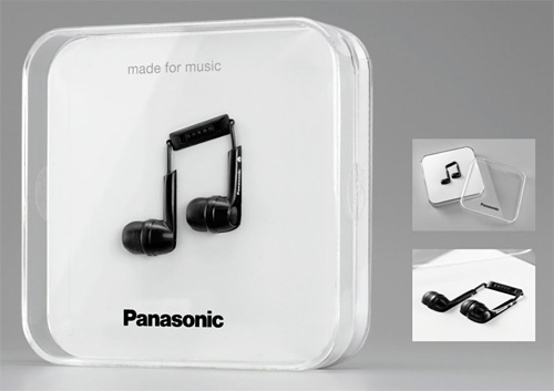 Panasonic Stereo Earphones RP-HJE 130 (Image courtesy COLORIBUS)