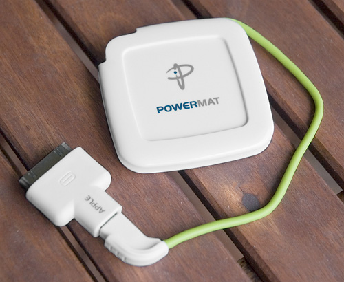 Powermat Wireless Charging Solutions (Image property OhGizmo!)
