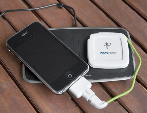 Powermat Wireless Charging Solutions (Image property OhGizmo!)