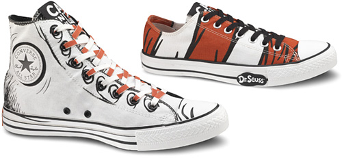 Dr. Seuss + Chuck Taylor All Stars (Images courtesy Converse)