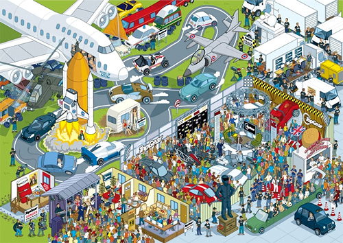 Where's Stig? (Image courtesy BBC Books)