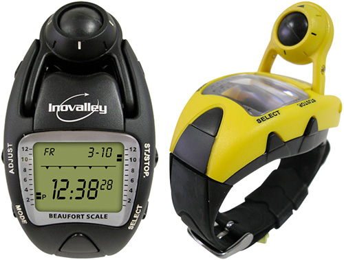Inovalley Anemometer & Altimeter Watch (Images courtesy BB Shopping)