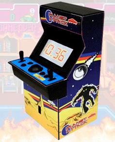 Arcade Alarm Clock (Image courtesy Lazybone)