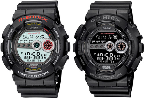 Casio G-Shock GD-100 (Image courtesy Casio)