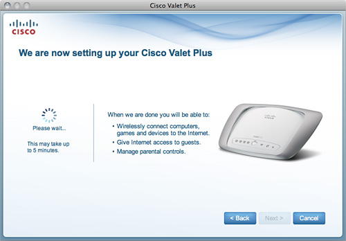 Cisco Valet Plus M20 Setup (Image property OhGizmo!)