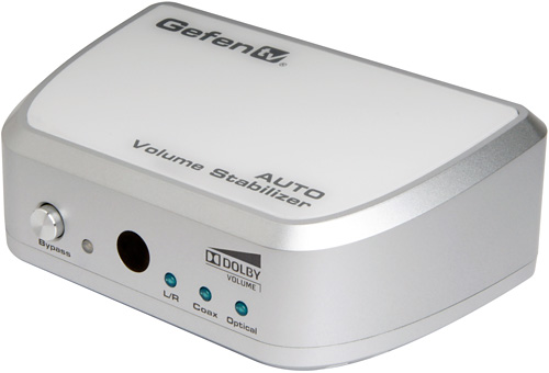 GefenTV Auto Volume Stabilizer (Image courtesy Gefen)