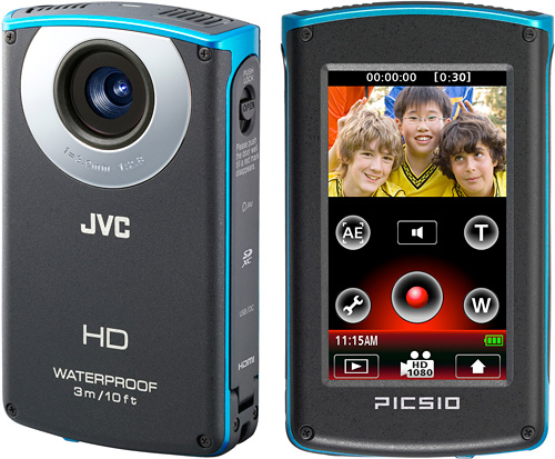 JVC Picsio GC-WP10 (Images courtesy JVC)