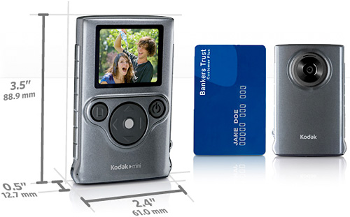 KODAK Mini Video Camera (Image courtesy Kodak)