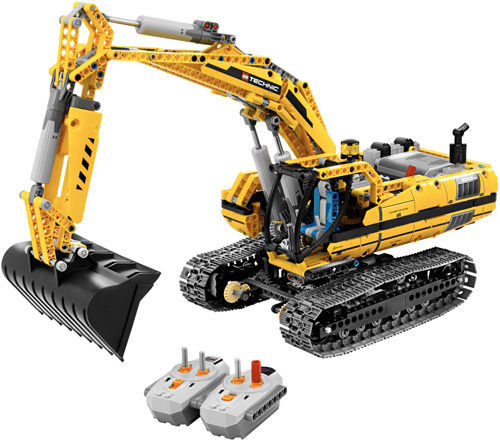 LEGO RC Motorized Excavator (Image courtesy LEGO)