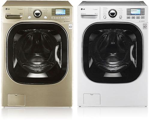 LG WM3885HCCA & WM3885HWCA Washers (Images courtesy LG)