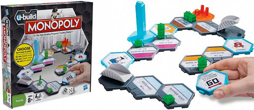 U-Build MONOPOLY (Images courtesy Hasbro)