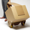Move-it Concept Is A 100% Recyclable Cardboard Trolley