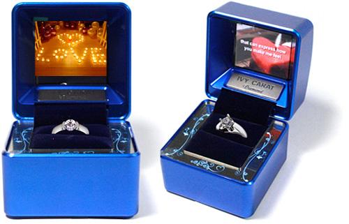 IVY CARAT Diamond Jewelry Case (Images courtesy KJ Global Ltd.)