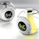 Color Changing Orb Alarm Clock